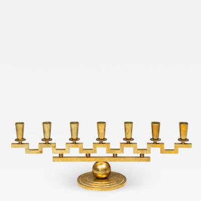 Lars Holmstr m Candlestick Produced in his own Workshop in Arvika
