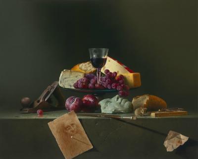 Last Supper Contemporary Still Life Giclee by Dario Campanile