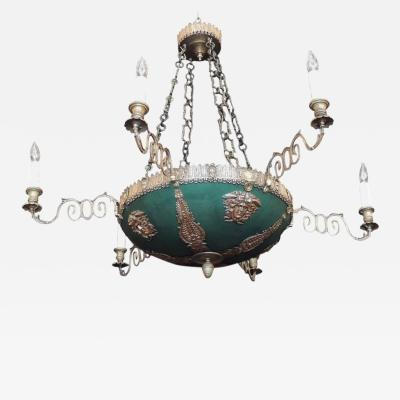Late 18th C Italian Neoclassical Chandelier