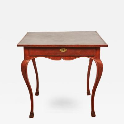 Late 18th Century French Beech Wood Louis XV Game Table