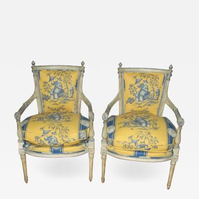 Late 18th Century French Directoire Armchairs