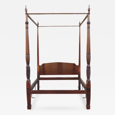 Late 18th or Early 19th Century Mahogany Charleston Bed