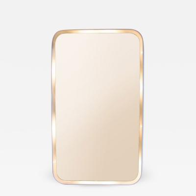 Late 1960s Italian wall mirror light