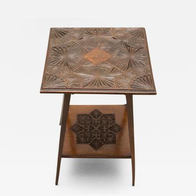 Late 19th Century Anglo Indian Table