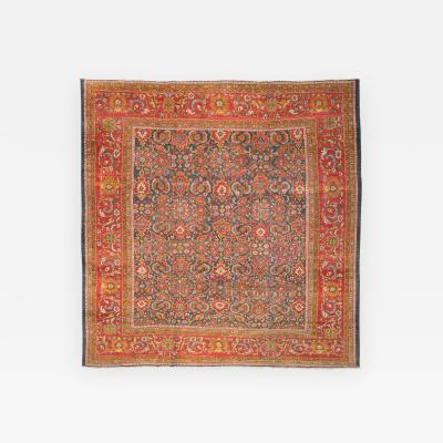 Late 19th Century Antique Rug Ziegler Sultanabad Persian circa 1890