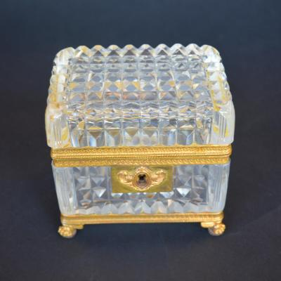 Late 19th Century Baccarat Glass Boxes