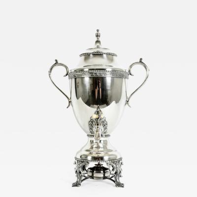 Late 19th Century English Plated Samovar