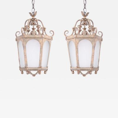 Late 19th Century French Lanterns