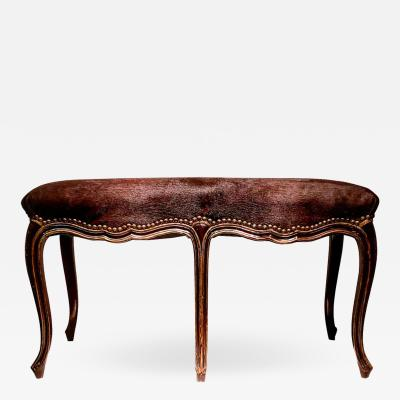 Late 19th Century French Louis XV Style Bench