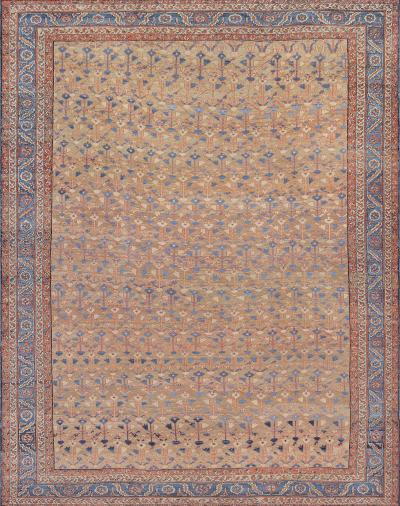 Late 19th Century Hand Woven Wool Bakhshaish Rug from North West Persia