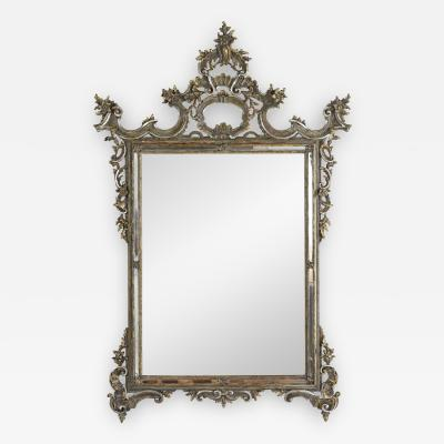 Late 19th Century Italian Baroque Style Wall Mirror