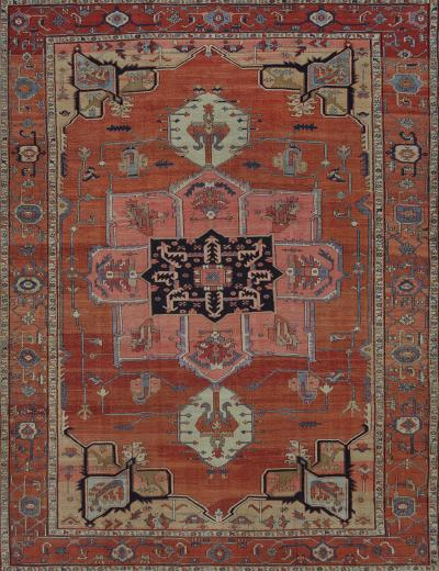 Late 19th Century Serapi Rug from North West Persia