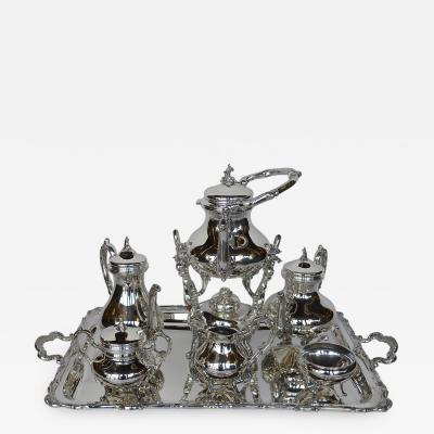 Late 19th Century Tea Set
