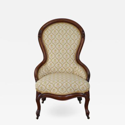 Late 19th Century Upholstered Side Chair