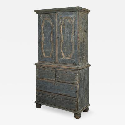 Late Baroque Swedish Cupboard