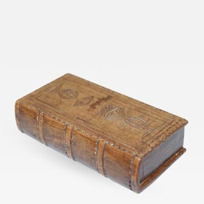 Late George III Wooden Snuff Box Late 18th Century