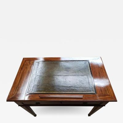 Late Louis XVI Mahogany Architects Table Late 18th Century
