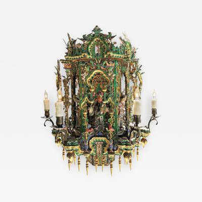 Late Qing Dynasty Lantern