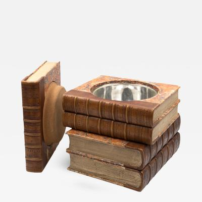 Late Victorian Book Stack Concealed Wine Cooler English