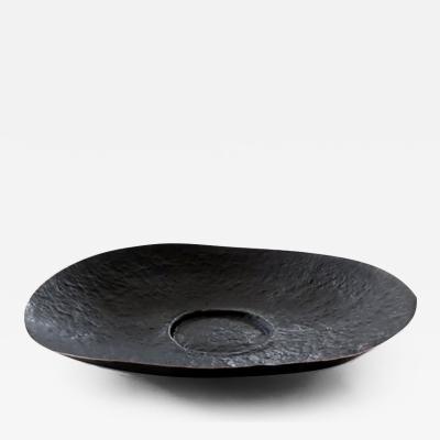 Laura Prieto Velasco Hvnter Gvtherer Monumental Hand Hammered Copper Bowl