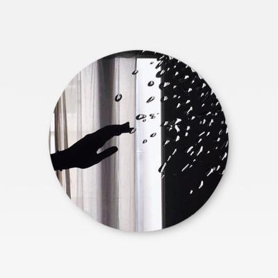 Laurene Guarneri Hand Sculpted Rain Mirror Laurene Guarneri