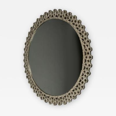 Laurent Chauvat Nickeled Steel Mirror by Laurent Chauvat France 2017
