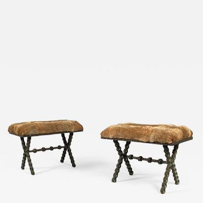 Laurent Chauvat Pair of Stools