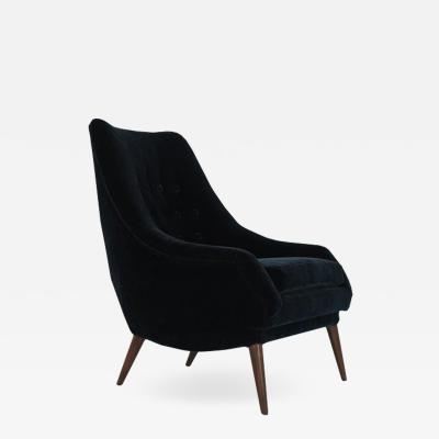 Lawrence Peabody Lawrence Peabody Scoop Lounge Chair 1950s