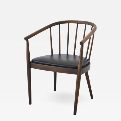 Lawrence Peabody Midcentury Bentwood Side Chair