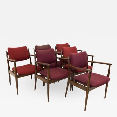 Lawrence Peabody for Nemschoff Captains Dining Occasional Chairs