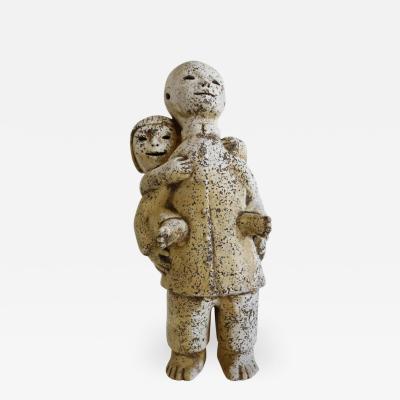 LeRoy Benjamin Hillside Sculpture by Le Roy Benjamin