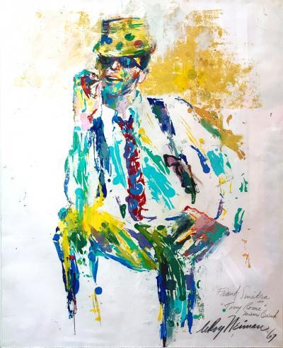 LeRoy Neiman Frank Sinatra as Tony Rome