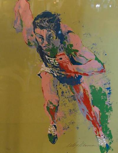 LeRoy Neiman Leroy Neiman Olympic Runner Print