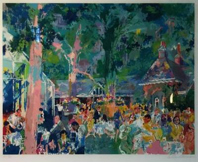 LeRoy Neiman Tavern on the Green Serigraph by Leroy Neiman