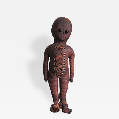 Leather Doll with Laces