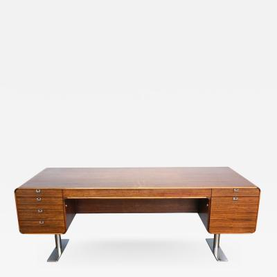 Leif Jacobsen An Exceptional Hardwood Writing Table by Leif Jacobsen