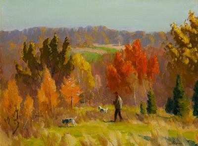 Harry Leith Ross Searching the Brush