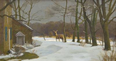 Harry Leith Ross Oil on Board Landscape