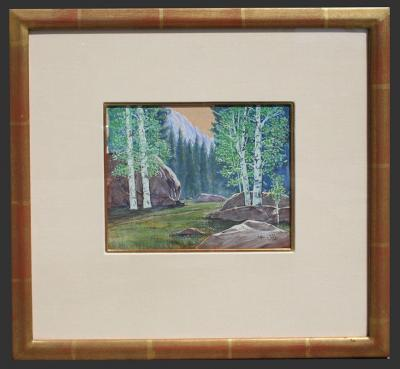 Leland S Curtis Aspen Trees