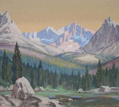 Leland S Curtis Sierra Lake