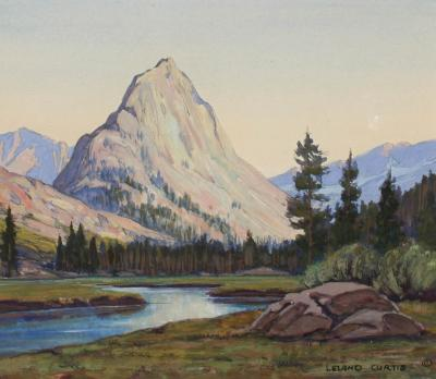 Leland S Curtis The Whaleback Cloud Canyon