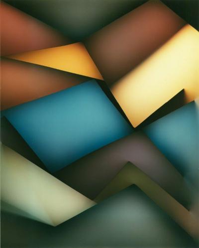 Len Gittleman Untitled photogram PGM 56 ca 1980