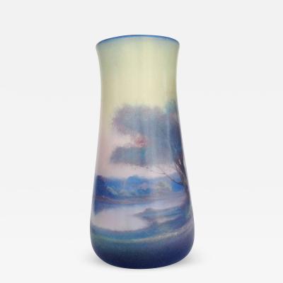 Lenore Asbury Rookwood Pottery Vellum Glaze Vase circa 1925