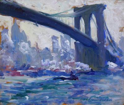 Leon Abraham Kroll Brooklyn Bridge