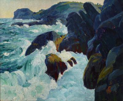 Leon Abraham Kroll Gull Rock