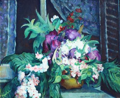 Leon Abraham Kroll Irises and Spring Blossoms