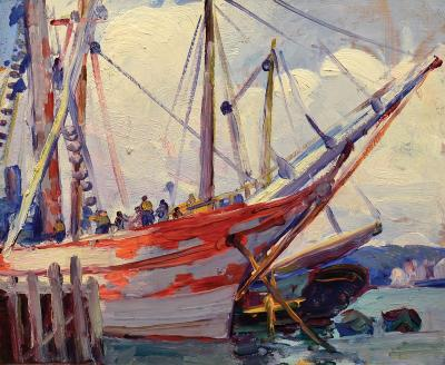 Leon Abraham Kroll Offered by WISCASSET BAY GALLERY