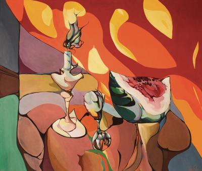 Leon Kelly Egyptian Flame