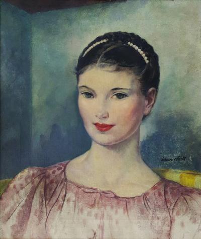 Leon Kroll Portrait of Theresa Rogers