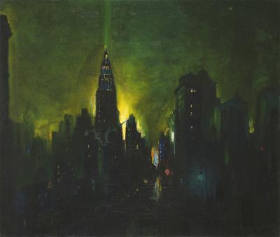 Leon Louis Dolice New York Nocturne
